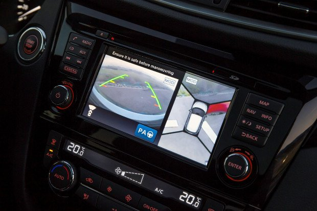 Nissan Qashqai system kamer