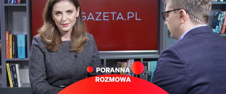 Poranna Rozmowa Gazeta.pl. Gościem - posłanka KO Joanna Mucha