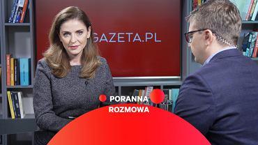 Poranna Rozmowa Gazeta.pl - gościem Joanna Mucha