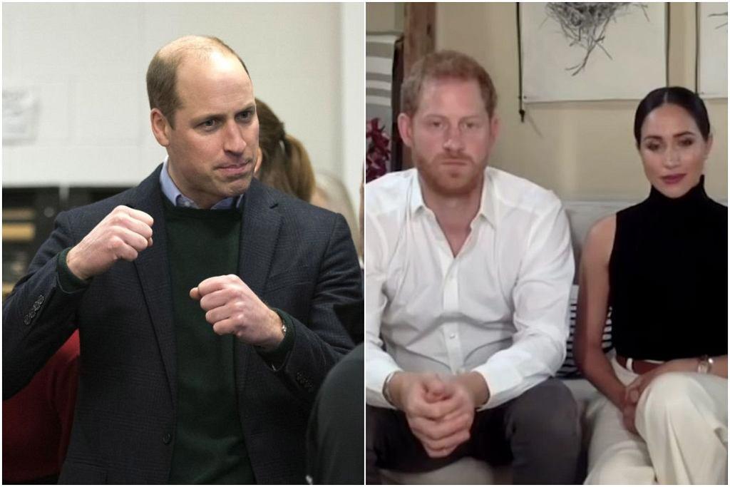 Książę William, książę Harry, Meghan Markle