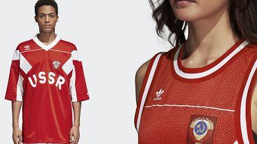 Adidas wypuścił serię ubrań z sowieckimi symbolami i napisem 'USRR'