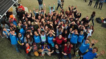 Ekipa Greenpeace na Woodstocku