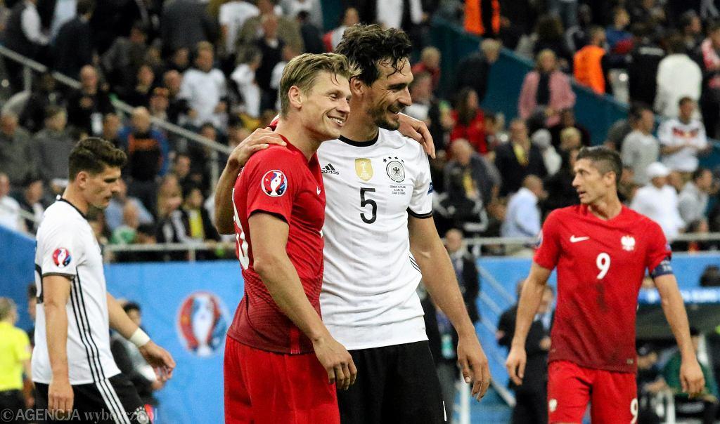 Mecz Polska - Niemcy w fazie grupowej Euro 2016