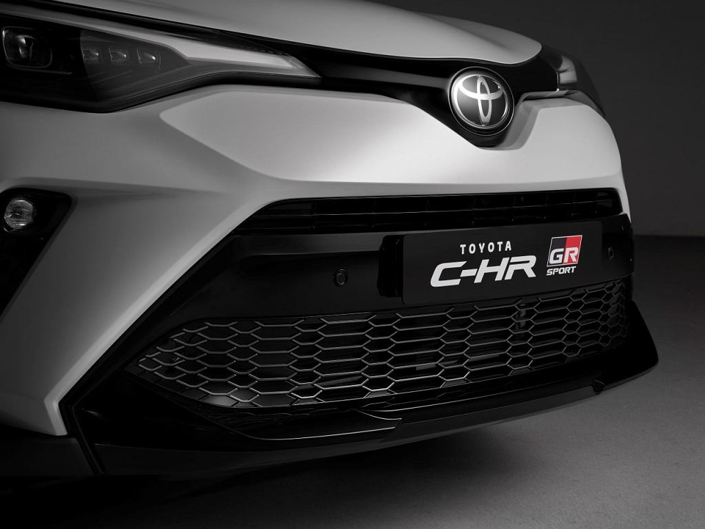 Toyota C-HR teraz także w bardziej bojowej odmianie GR