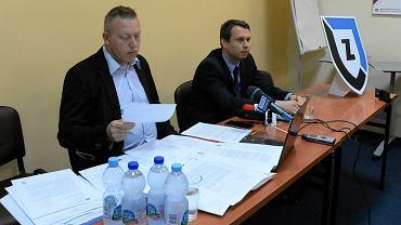 Konferencja prasowa władz SP Zawisza