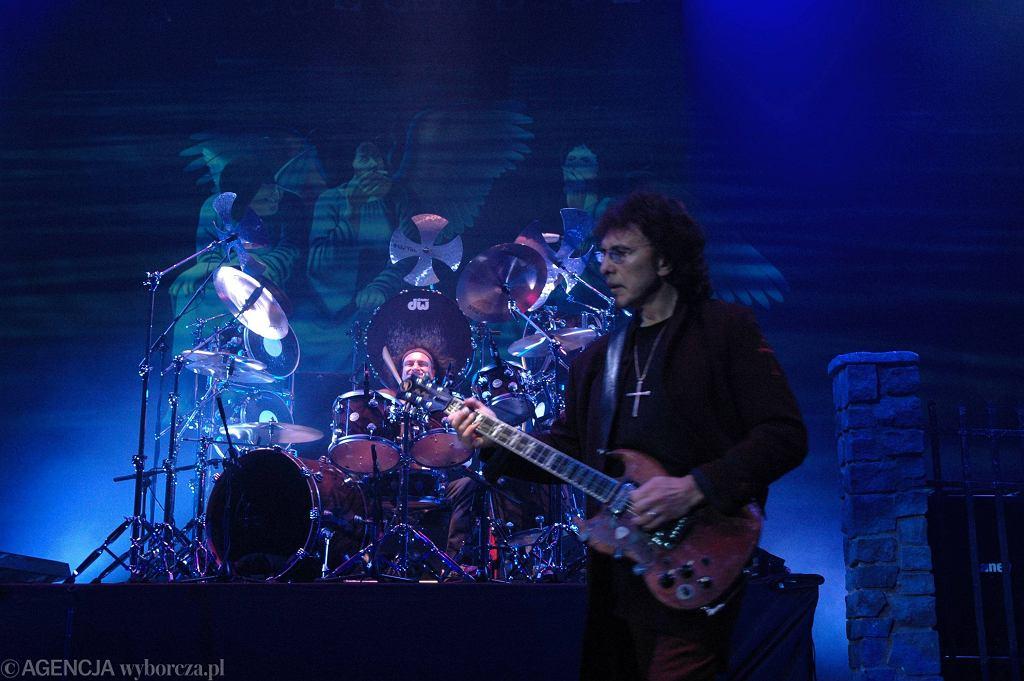 Tommy Iommi z zespołem Heaven & Hell w Spodku 2007