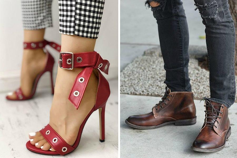 Stylowe buty damskie i męskie