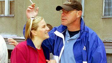 Piotr Machalica z córką
