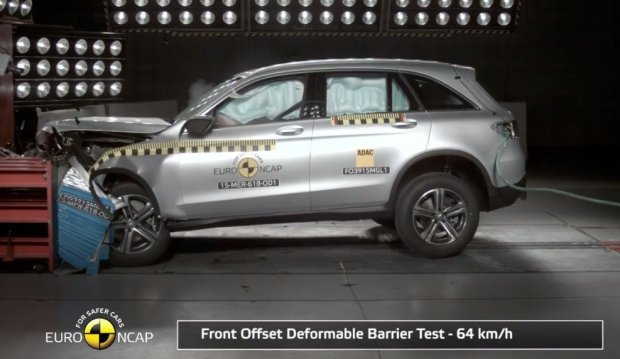 Mercedes-Benz GLC testy Euro NCAP