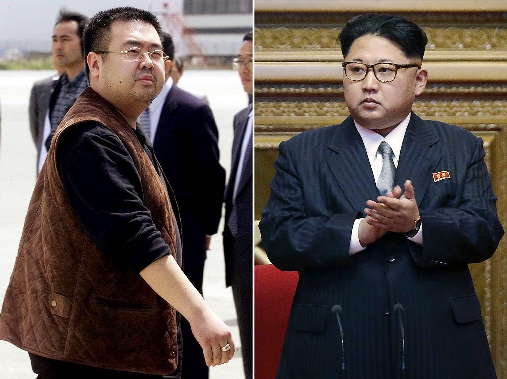 Kim Dzong Nam i Kim Dzong Un