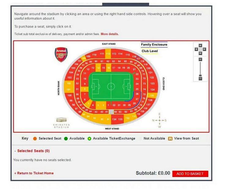 Zapełnienie trybun Arsenalu 2