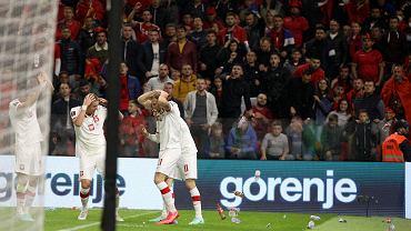 Mecz Albania - Polska.