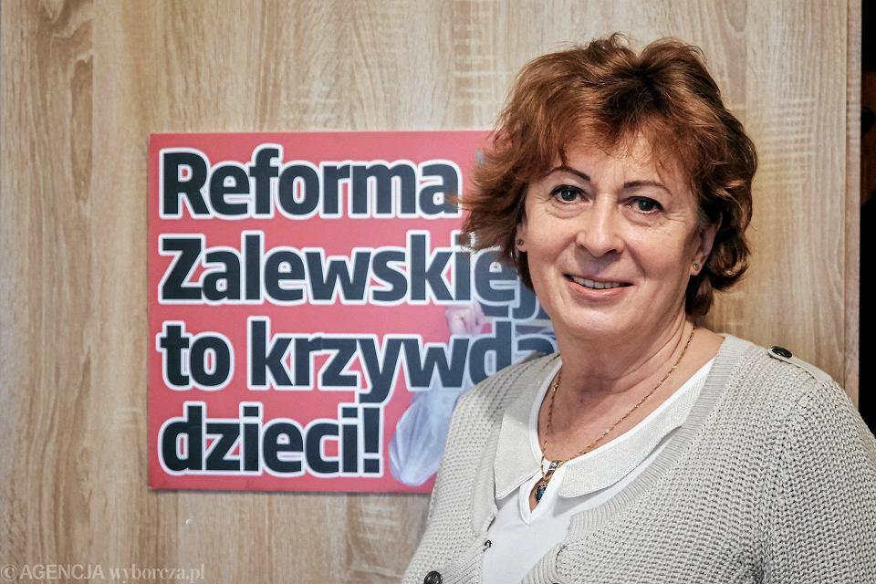 Celina Stasiak, prezes Oddziału ZNP w Lublinie