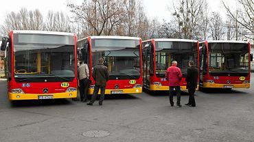 Autobusy MZK w Bielsku-Białej (zdjęcie ilustracyjne)