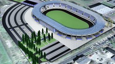 Wizualizacja nowego stadionu żużlowego w Łodzi