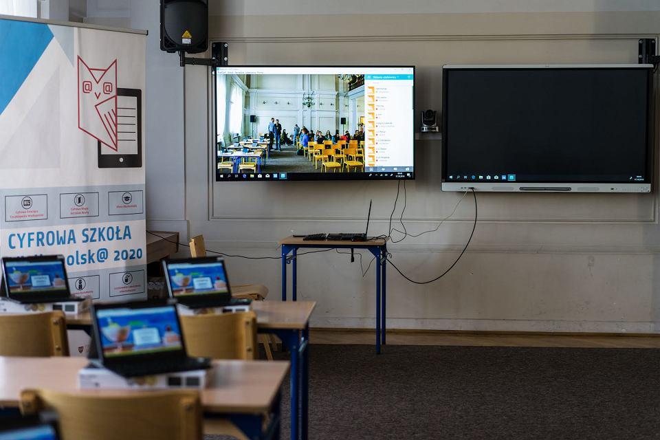 Sala cyfrowej szkoły