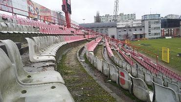 Stadion Widzewa przed rozbiórką
