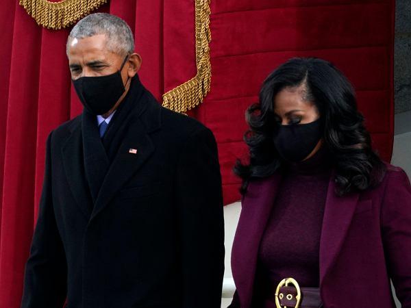 """Fryzura Michelle Obamy z zaprzysiężenia już stała się hitem sieci. """"Jej włosy były dziełem sztuki - niewzruszonym"""""""
