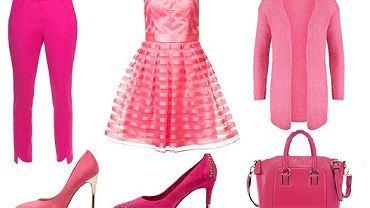 Ubrania i dodatki idealne do różowego total looku