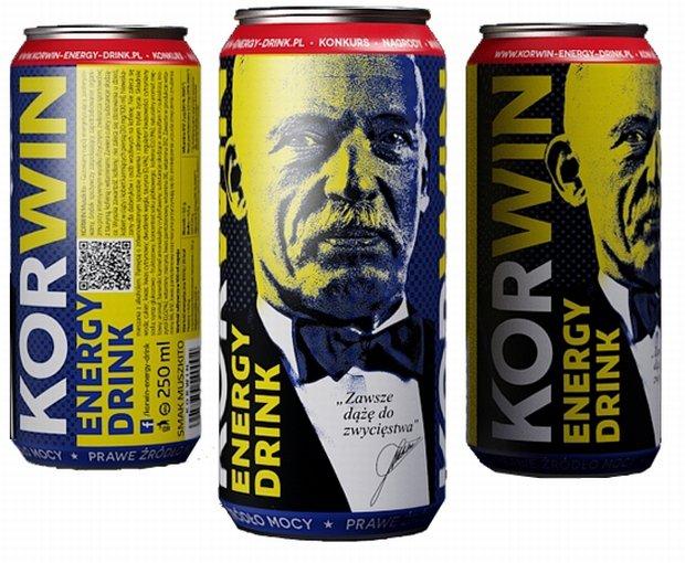 Zdjęcie numer 1 w galerii - Napij się Korwina. Nowy energetyk na rynku