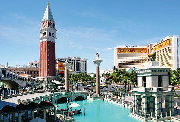 Lans Vegas - oaza seksu, hazardu i... głupoty, ameryka, podróże, Kanały The Venetian