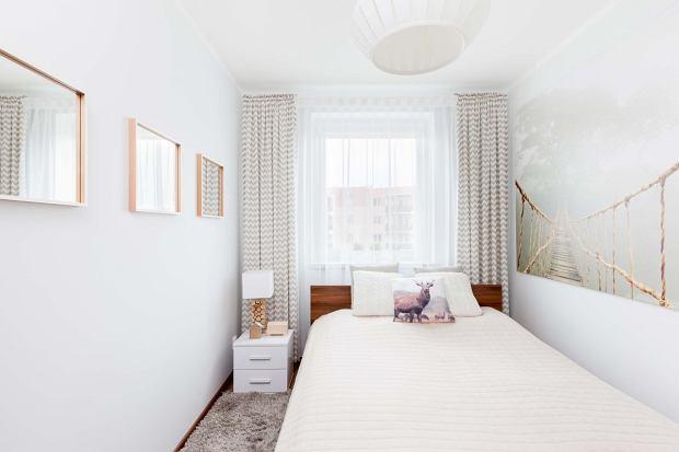 Metamorfoza małej sypialni za 2700 zł