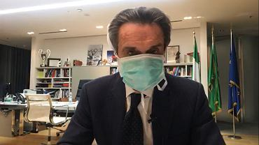 Koronawirus we Włoszech. Prezydent Lombardii Attilio Fontana przebywa w samoizolacji