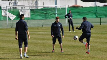 Ostatni trzej Portugalczycy: Andre Micael, Mica i Alvarinho