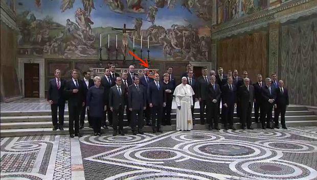 Beata Szydło na spotkaniu unijnych przywódców z papieżem Franciszkiem