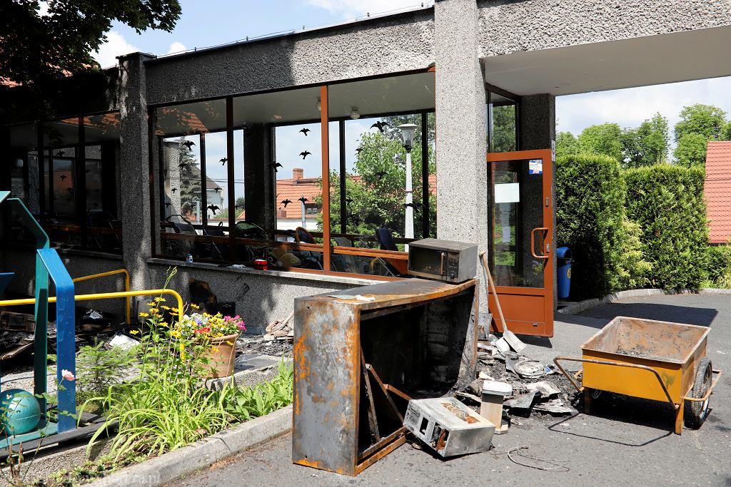 Pożar w ośrodku dla niepełnosprawnych w Katowicach. W sprawie oskarżono księgową placówki, która przywłaszczyła prawie 5 mln złotych z pieniędzy ośrodka.