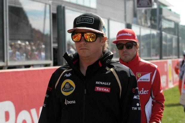 Kimi Raikkonen i Fernando Alonso