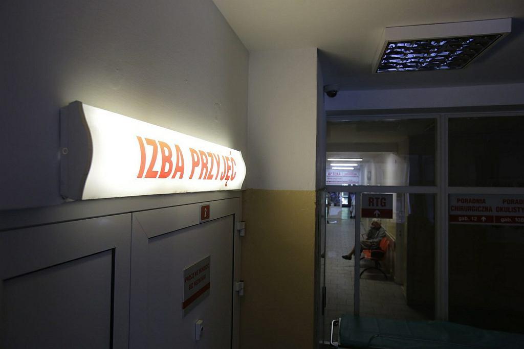 Szpitalna izba przyjęć (zdjęcie ilustracyjne)