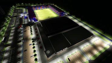 Wizualizacja stadionu Polonii Bytom