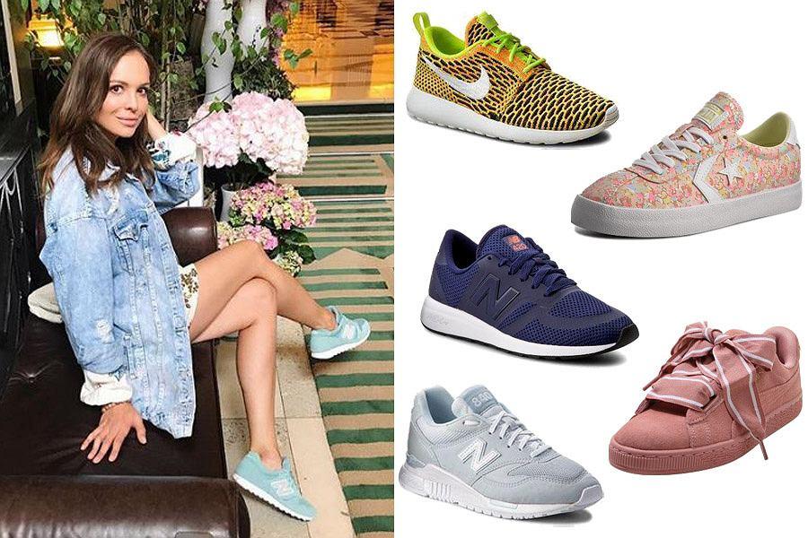 Kolorowe buty sportowe/Materiały partnera