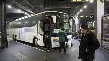 Dworzec autobusowy w Krakowie
