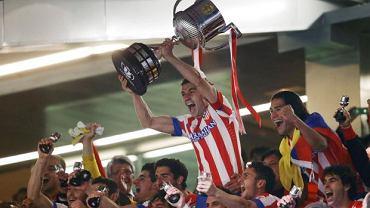 Piłkarze Atletico cieszą się po zwycięstwie w Pucharze Króla