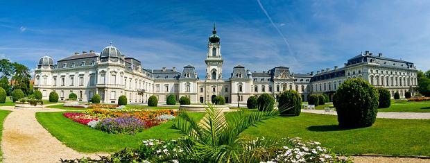 Węgry. Północny Balaton: Keszthely. Na zdjęciu Pałac Festeticsów.
