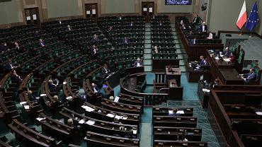 27.03.2020, Warszawa, posiedzenie Sejmu