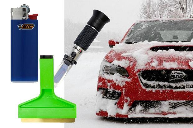 Co warto wozić w samochodzie zimą