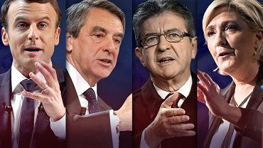 Kandydaci z największą szansą na wygraną we francuskich wyborach prezydenckich