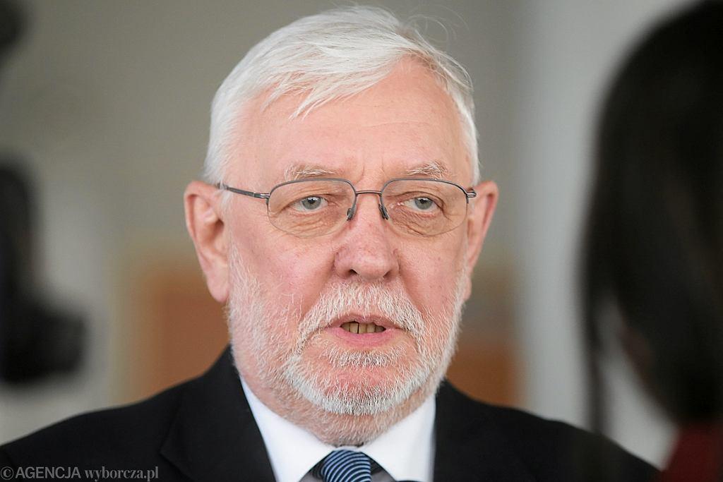 Sędzia Jerzy Stępień (fot. Agnieszka Sadowska/AG)