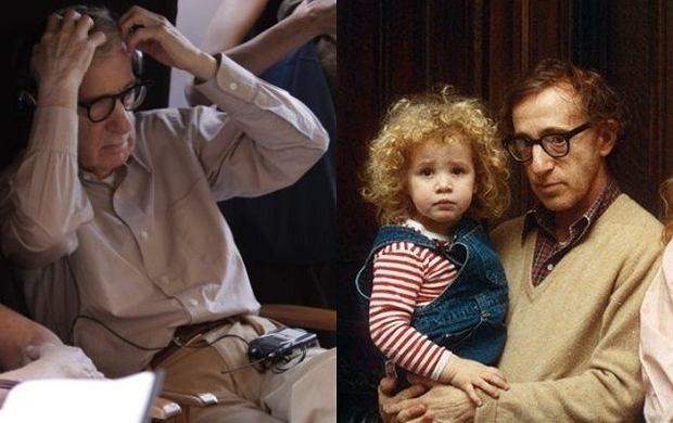 Woody Allen z córką.