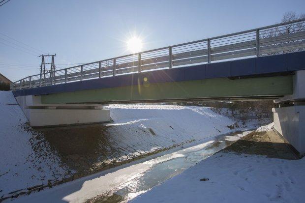 Na Podkarpaciu otwarto innowacyjny most z kompozytów