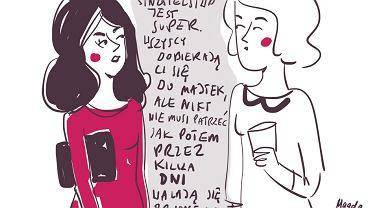 Plusy dodatnie (rys. Magda Danaj)