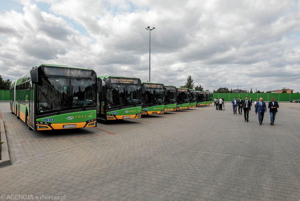 Prezentacja nowych autobusów marki Solaris dla Poznania