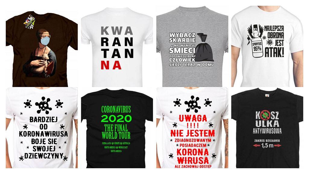 Koszulki różnych sprzedawców