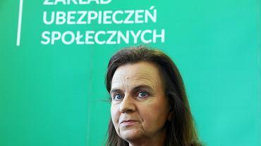 Gertruda Uścińska, prezes ZUS.