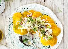 Sycylijska sałatka z buraków, fenkułu i pomarańczy - ugotuj