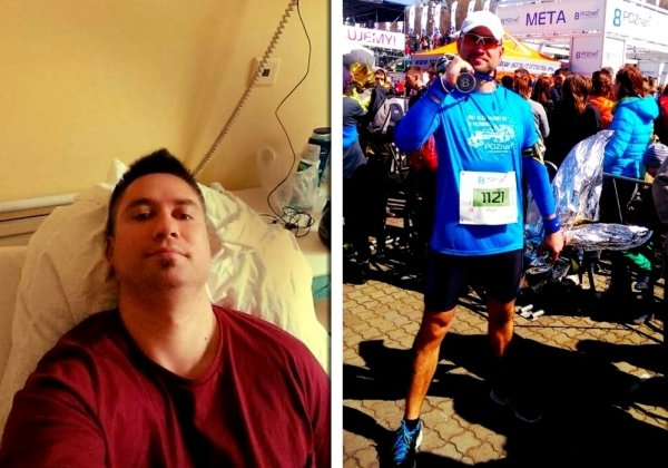 Ze szpitalnego łóżka na maraton