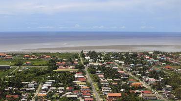 Gujana, widok na Georgetown, stolicę kraju